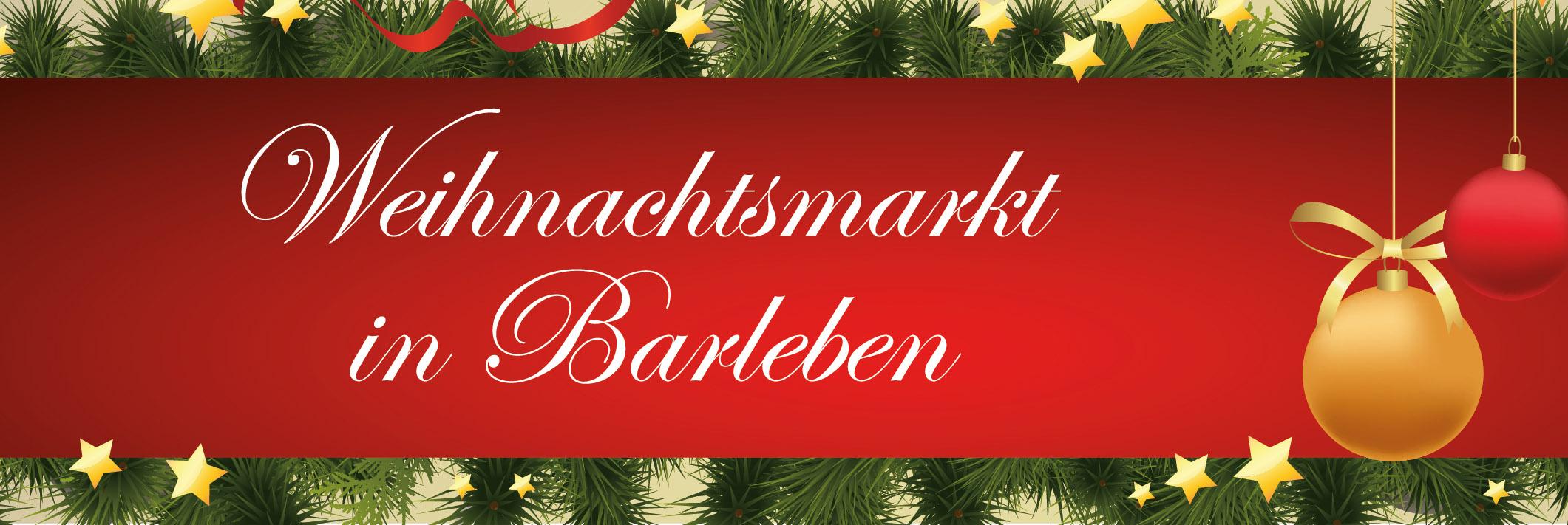 Weihnachtsmarkt in Barleben