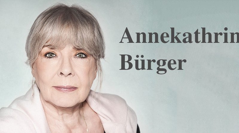 """""""Der Rest, der bleibt"""" – Annekathrin Bürger"""