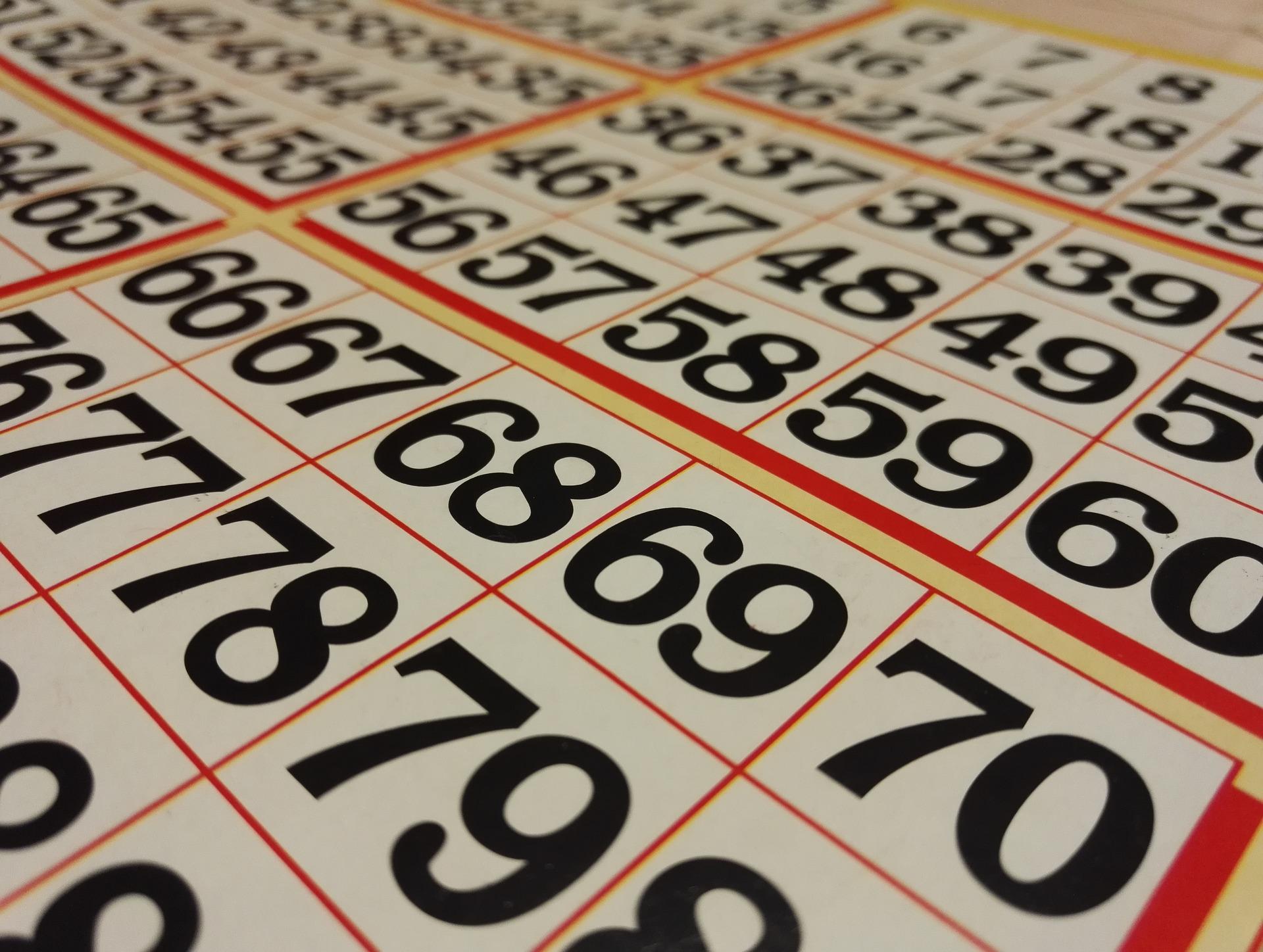 Bingo-Nachmittag