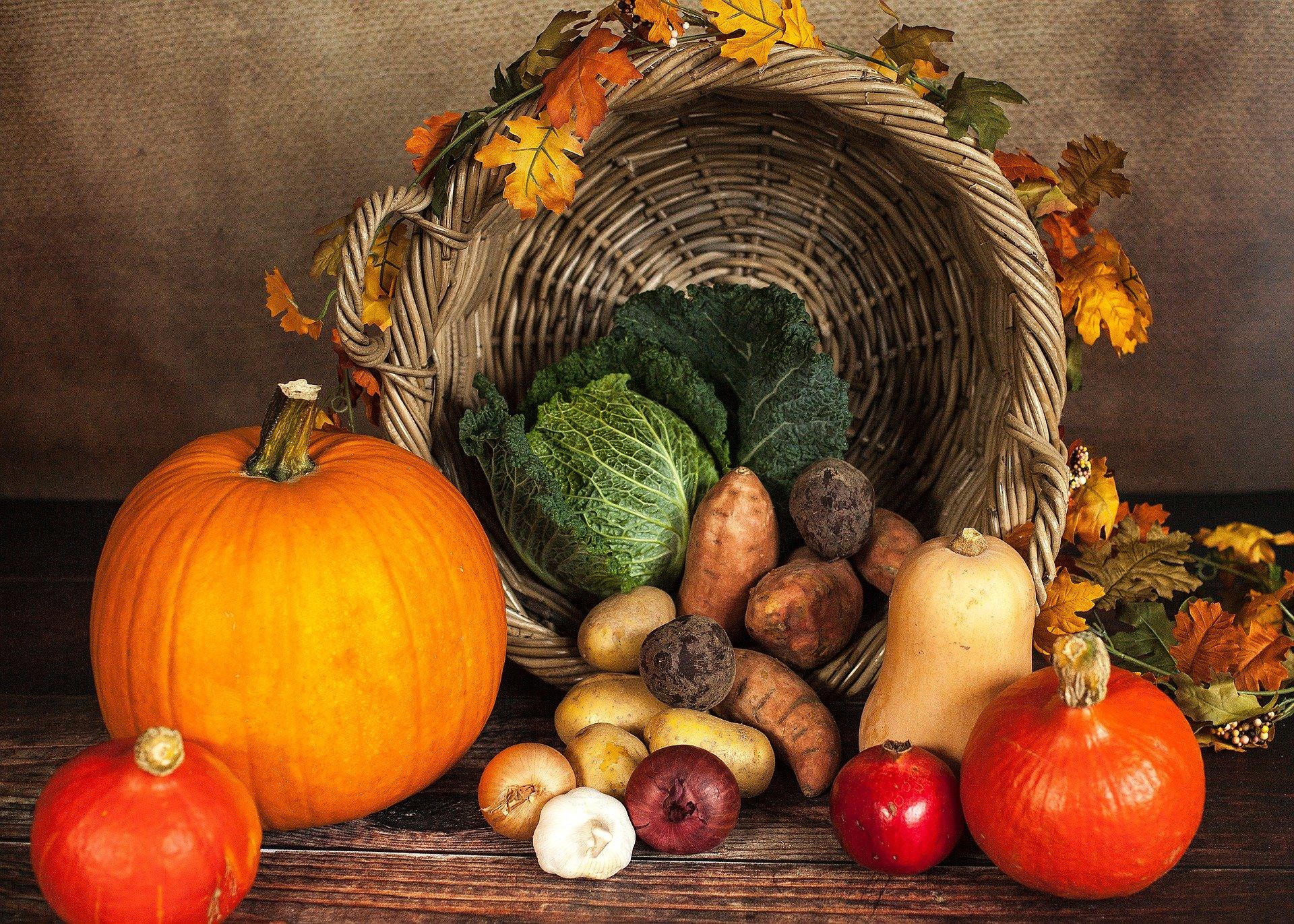 Köstliches Herbstgemüse