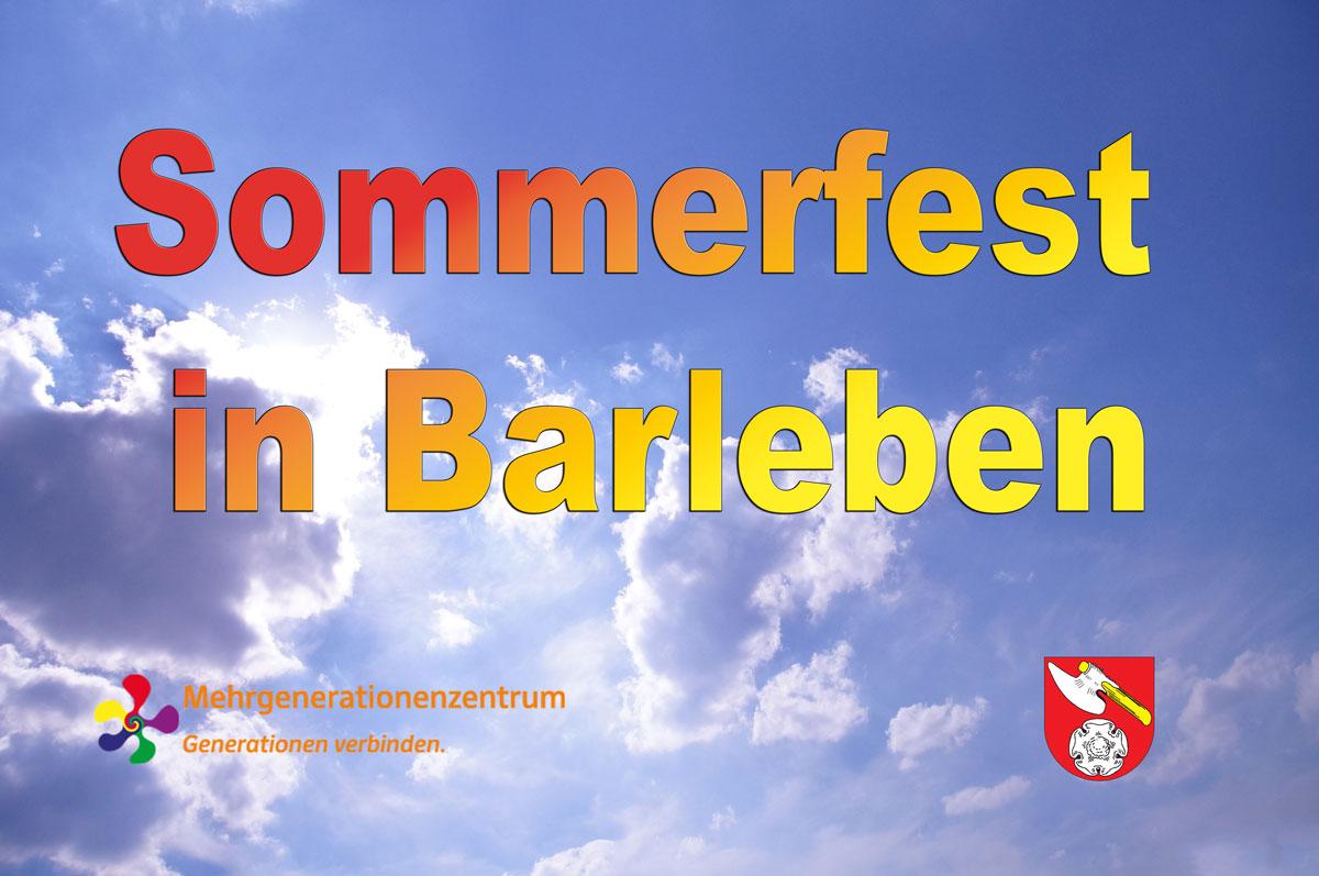 Sommerfest in Barleben